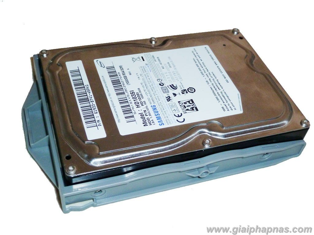 HDD with tray holder