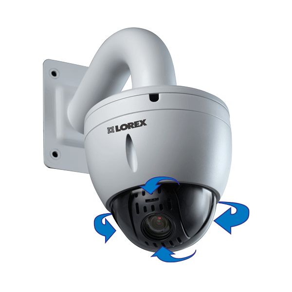 Camera IP PTZ được thiết kế với mẫu mã rất đẹp, tuy nhiên lại rất nặng do chứa nhiều lớp thấu kính bên trong, cùng với chất liệu bên ngoài và chân đế.