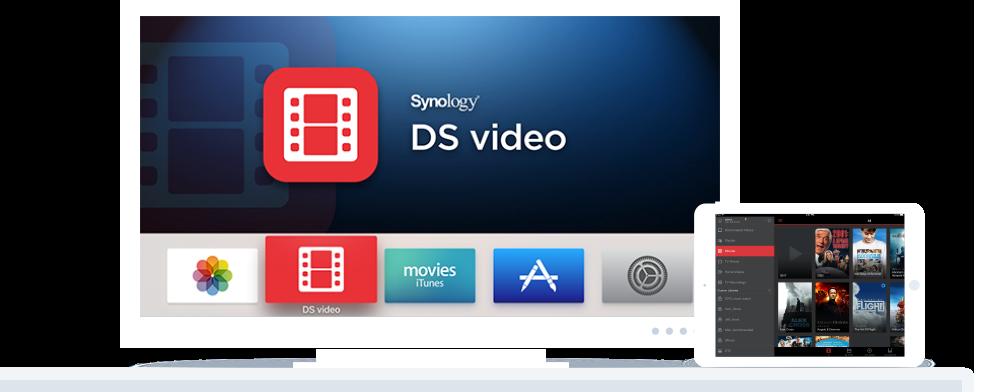 DS218 có khả năng streaming video trực tiếp chuẩn 4K mọi lúc mọi nơi