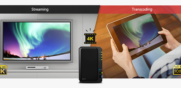 Với DS video hoặc Video Station là bạn đã có thể dễ dàng lựa chọn cho mình những file giải trí với chất lượng chuẩn 4K