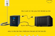 Cách kết nối UPS và hệ thống Synology