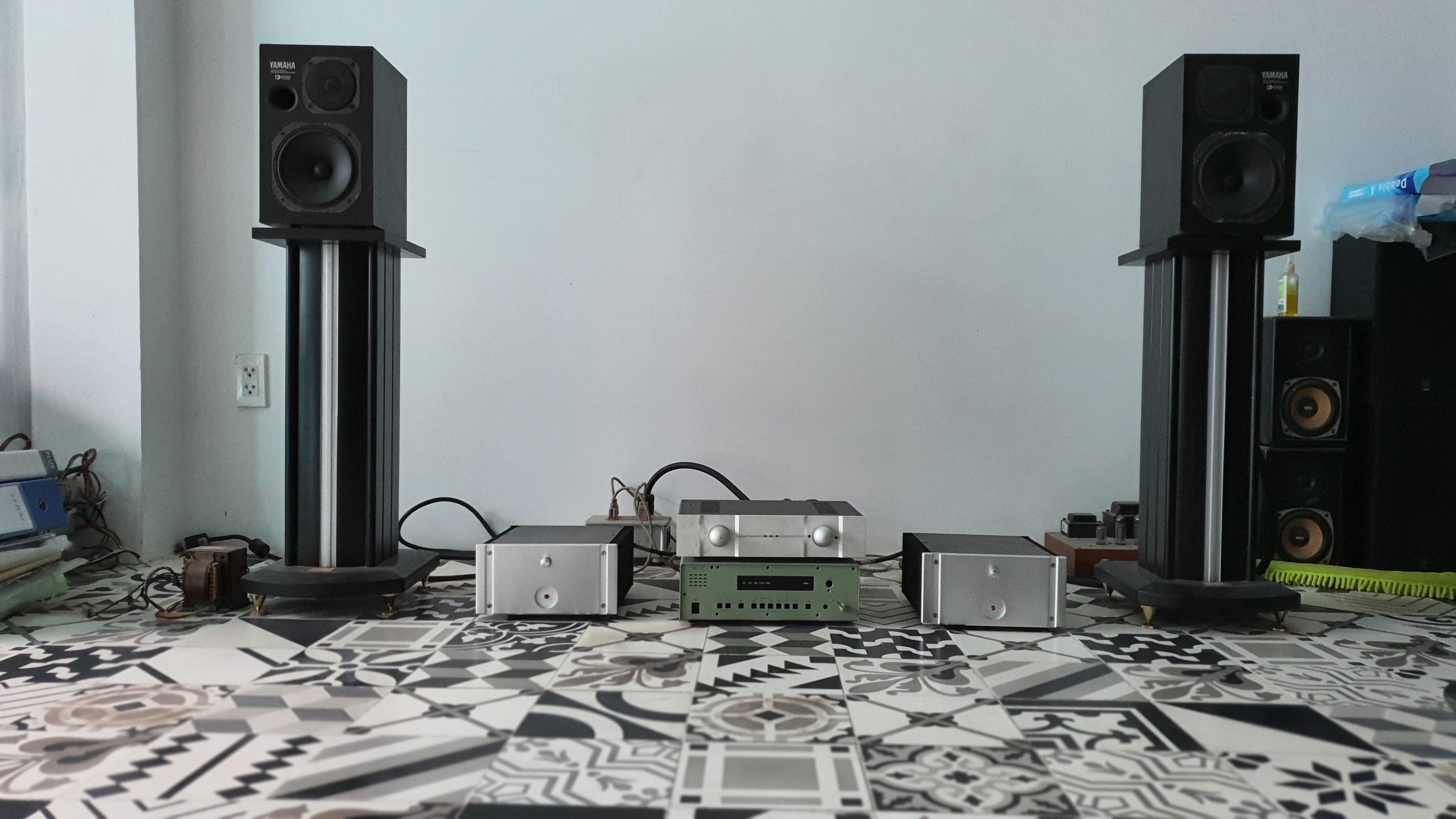 Hệ thống chơi nhạc của anh Bảo